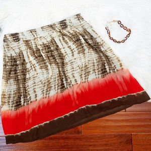 Plus CJ Banks tie dye skirt 20